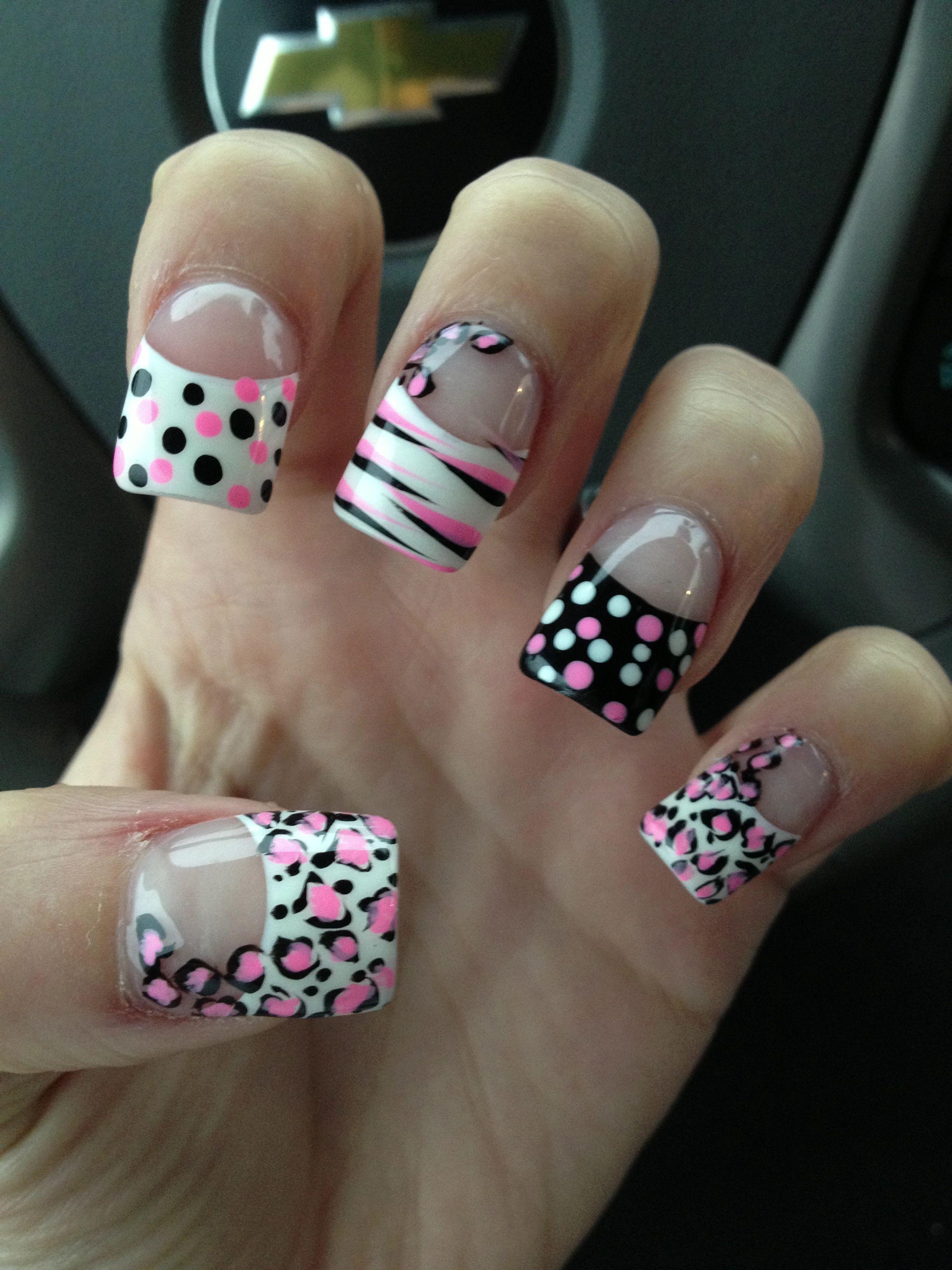 Nail designs 3 | Nails | Pinterest | Short nails, Nail nail and Pedi