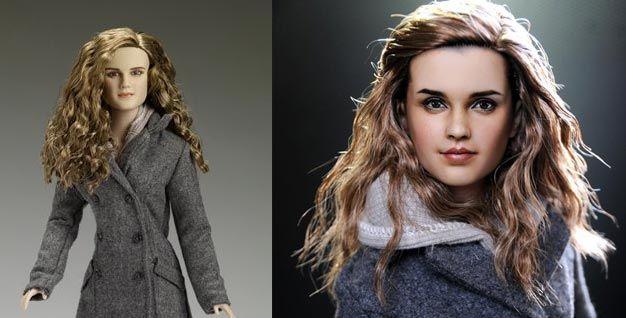 Repintura boneca Hermione Granger