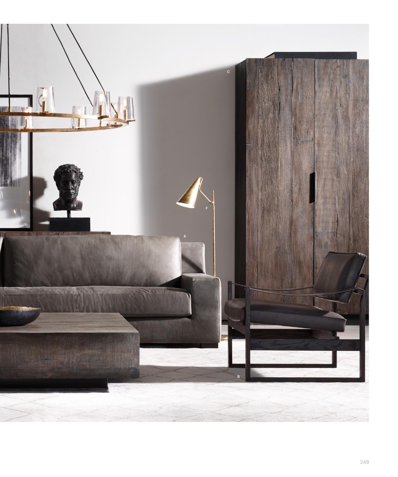 rh source books  luxury interior living room interior