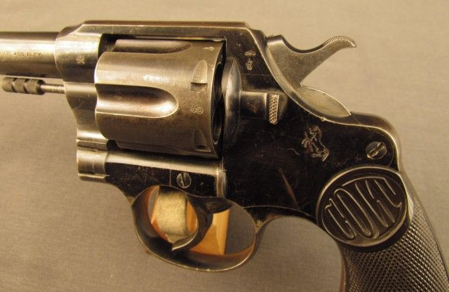 British Proof Marks On Colt New Service 455 Word War 1 Revolver