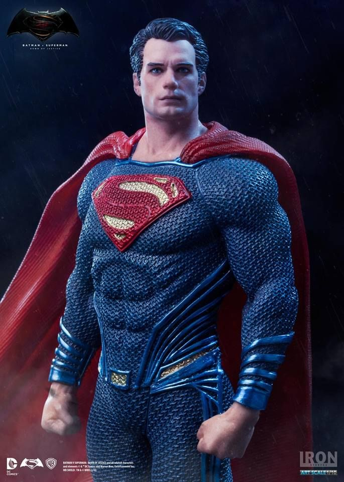 Estátua Superman - Batman Vs Superman Dawn Of Justice - Art Scale 1 10 -  19 8e190972e12