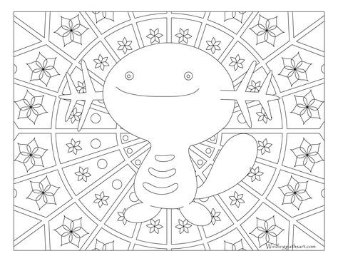 Free Printable Pokemon Coloring Page Wooper Visit Our Page For More Coloring Coloring Fun For All Ages Pokemon Coloring Coloring Pages Pokemon Coloring Pages
