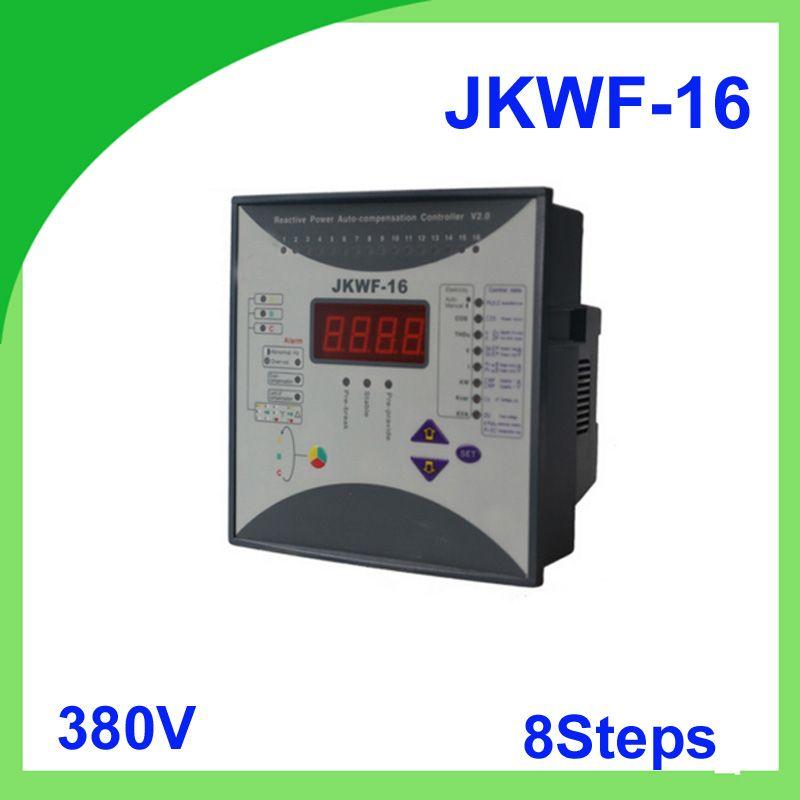 Reactive Power Automatic Compensation Controller Rpcf3 16 Jkwf 16 8steps 380v 50 60hz Reactive Power Compensation Controller Power Cool Things To Buy Control