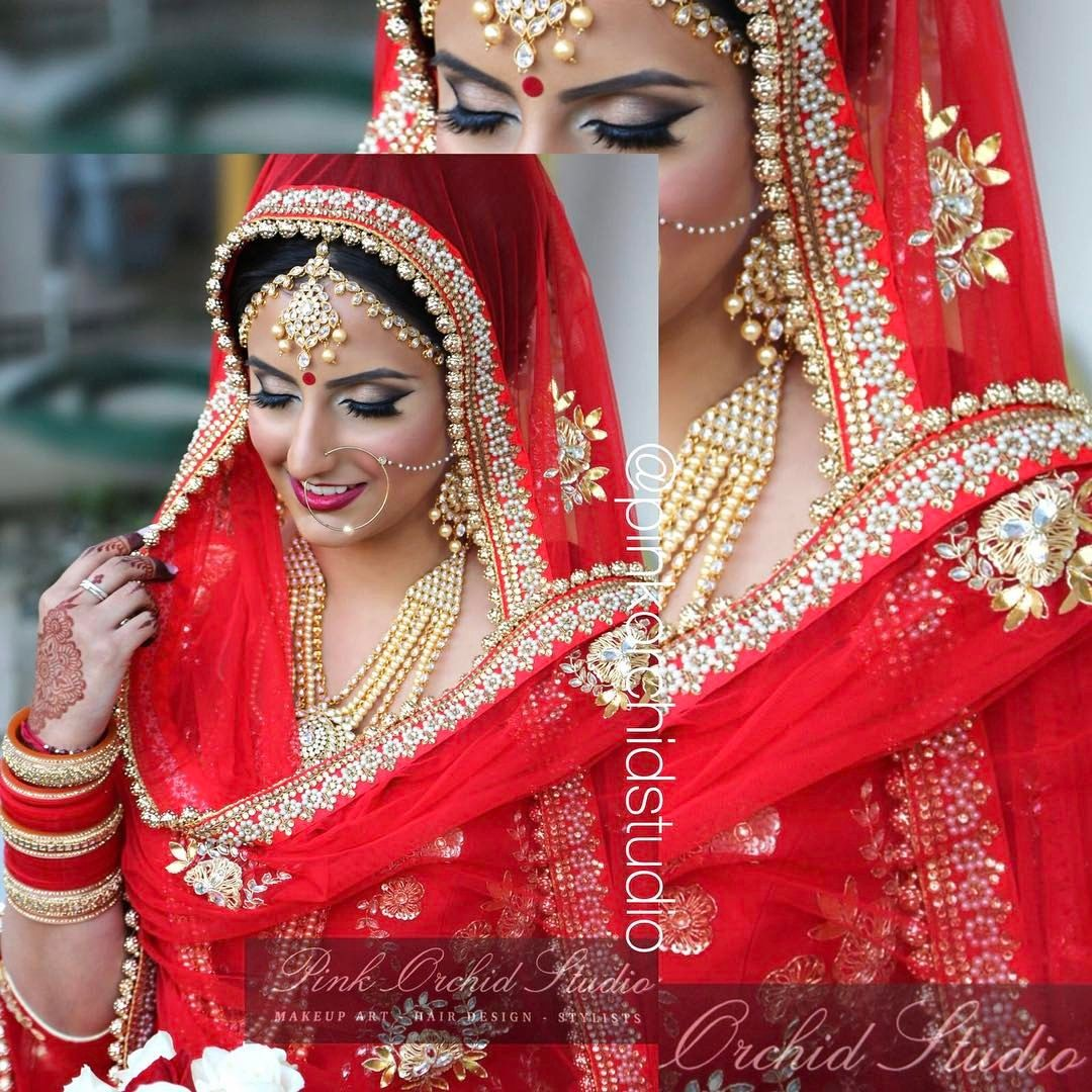 a punjabi bride | bride {n} groom jewels & dresses | indian