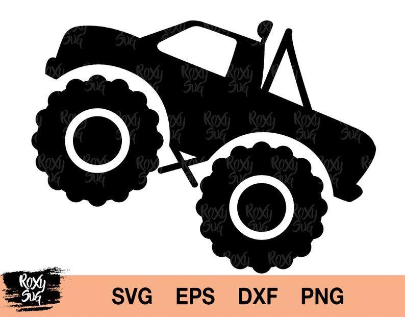 Truck Svg Monster Truck Svg Truck Clipart Monster Truck Svg Etsy Monster Trucks Trucks Svg Files For Cricut