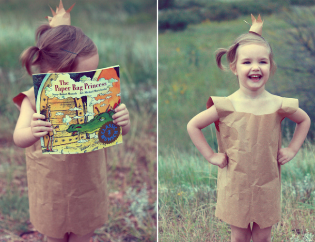 Mom brings book characters to life with 12 dazzling costumes #paperbagprincesscostume