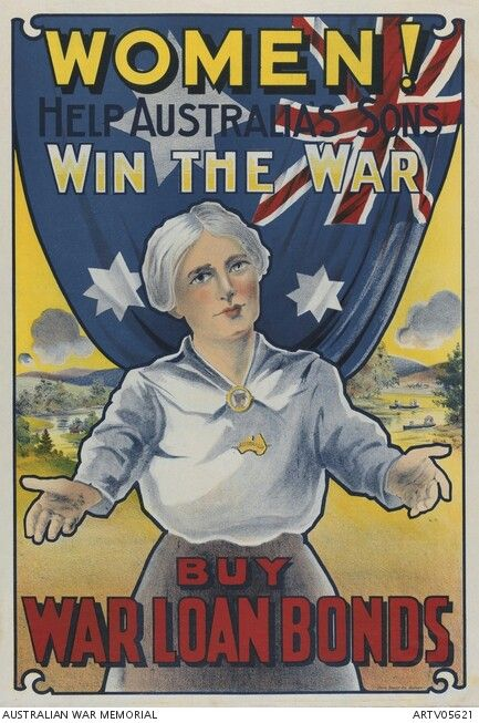 War Loan Bonds Australia Australian War Memorial Military Artwork Posters Australia History Projects