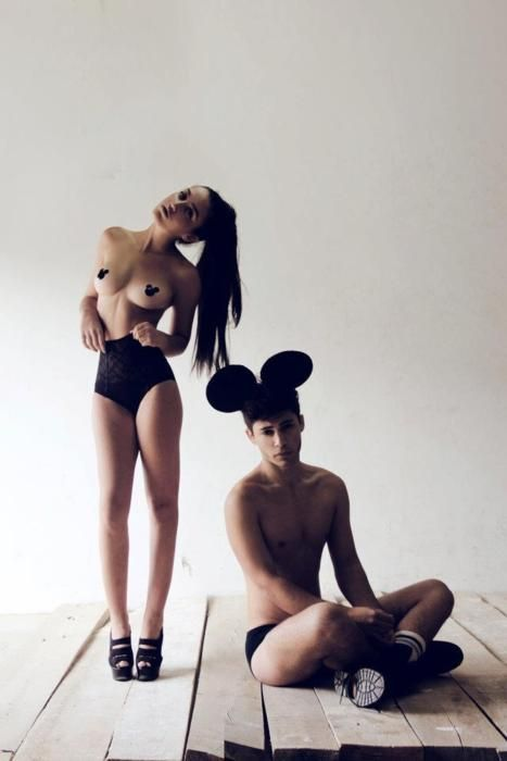 girl ears Mickey nude mouse