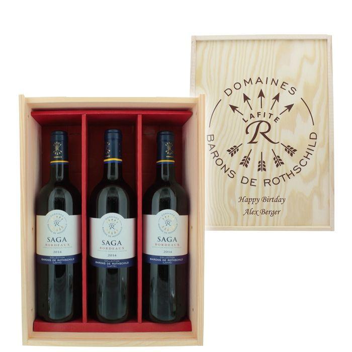 Weinpräsent für Opa, auch für Papa oder den Chef geeignet - mit ...