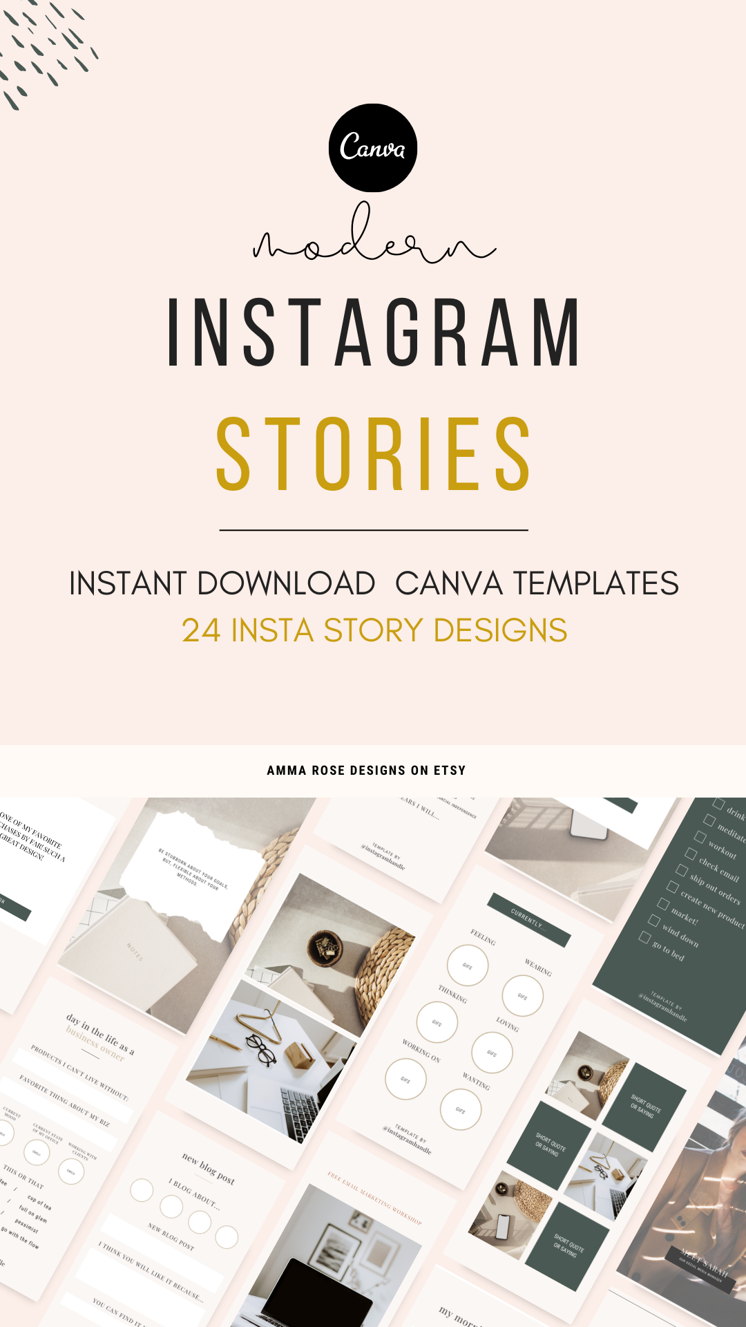 35 Best instagram marketing templates for May 2020