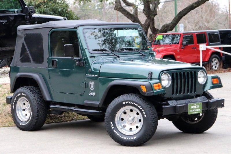 1999 Forrest Green Jeep Wrangler 9995 1999 Jeep Wrangler Jeep Wrangler Jeep