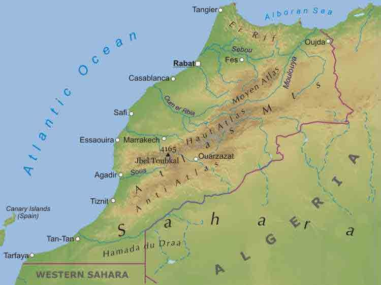 Atlas mountains morocco map this looks good different destinations atlas mountains morocco map this looks good gumiabroncs Image collections