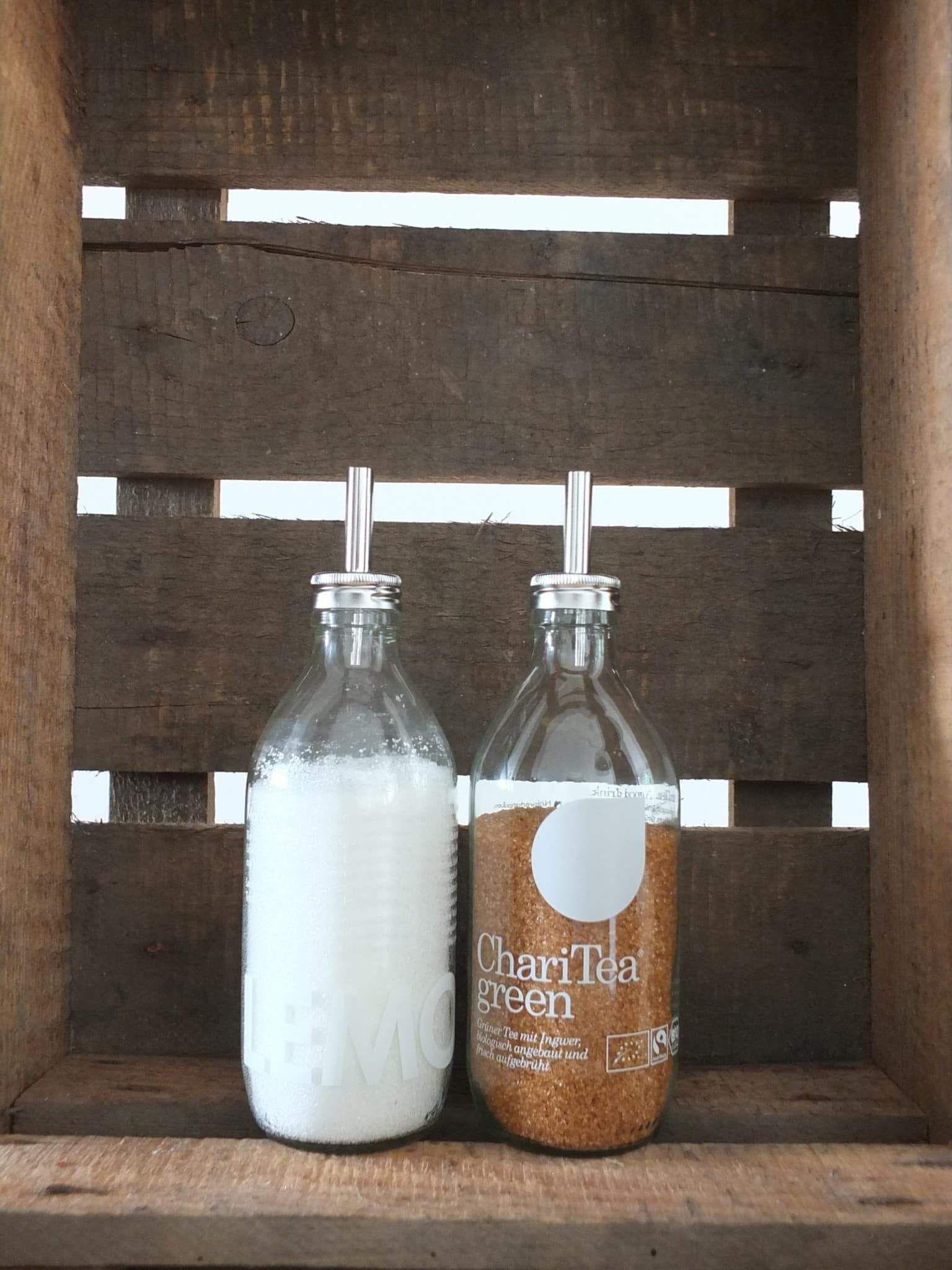 Upcycling ] ↠ Praktische Aufsätze für Flaschen & Gläser