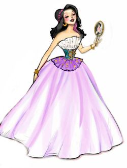 Esmeralda. Disney ladies