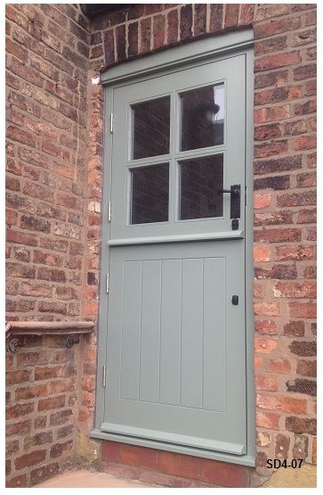 Stable Door With Four Panes Painted Many Other Colours Available Modern Barn Door Cottage Door Stable Door