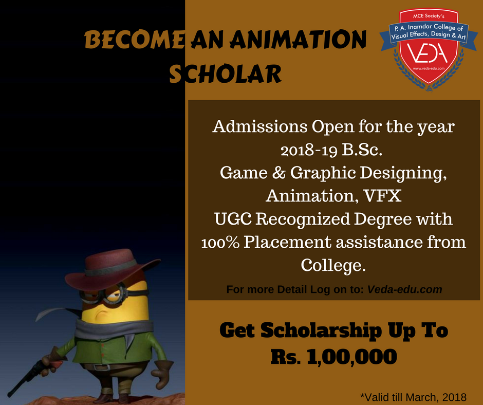 B.Sc. Animation Degree Course in Pune Learn animation