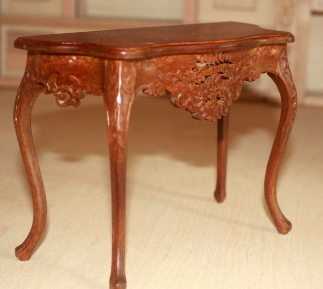 1 6 Scale Side Table For 12 Inch Or 14 Fashion Doll Such As Barbie Royalty