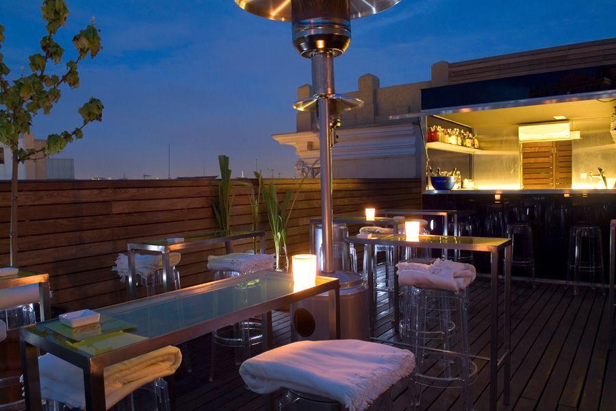 Hotel De Las Letras Madrid Love Rooftop Bars Terrazas