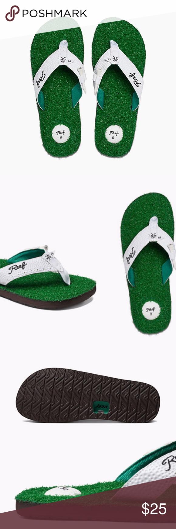 b3f3d82f0bd62 NWT Reef Mulligan 2 ii men s golf flip flops Brand new with tag-in original