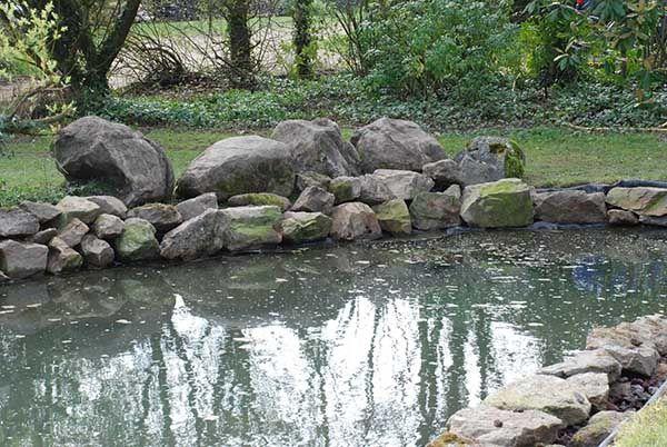 cr er un bassin amenager trucs et astuces backyard ideas backyard outdoor decor et home decor. Black Bedroom Furniture Sets. Home Design Ideas
