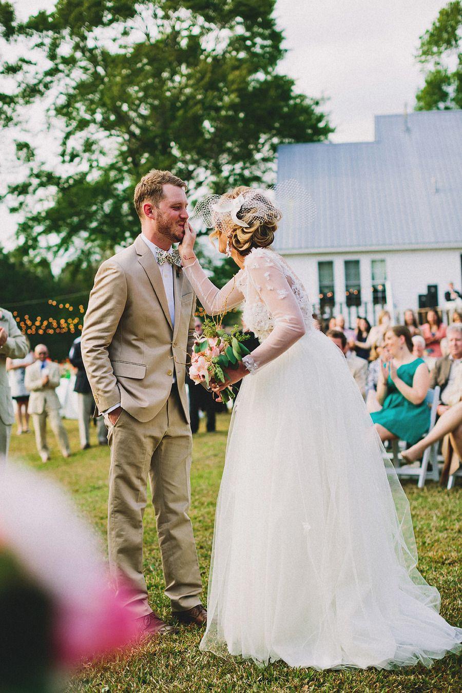 Wedding Dress Louisiana Outdoor