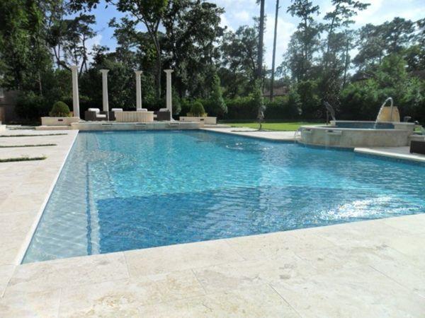 101 Bilder Von Pool Im Garten   Landschaft Luxus Infinity Pool Groß