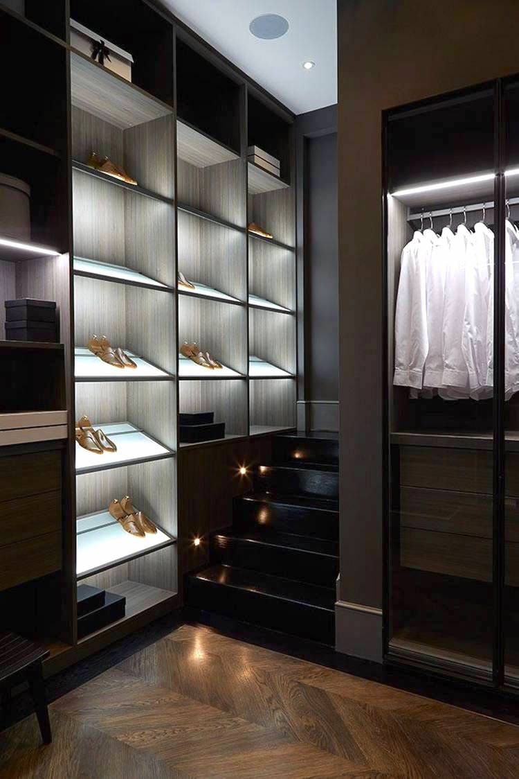 Modern Home Mens Closet Design