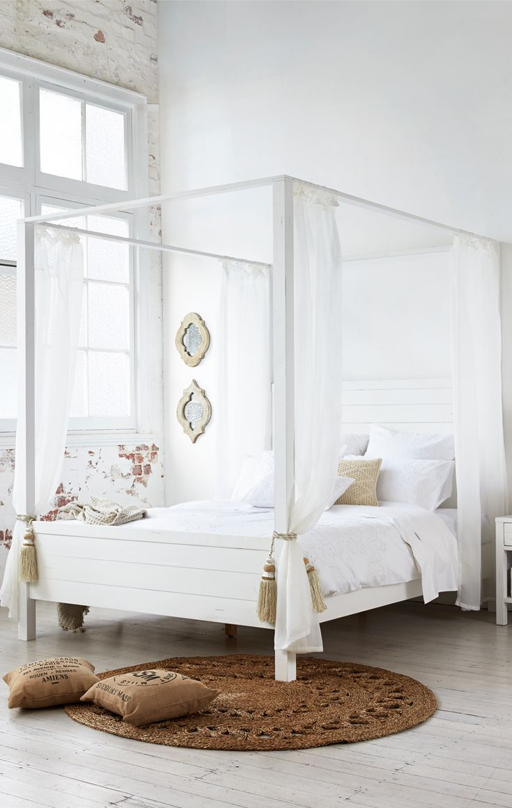 Modern Four Poster Bed Australia