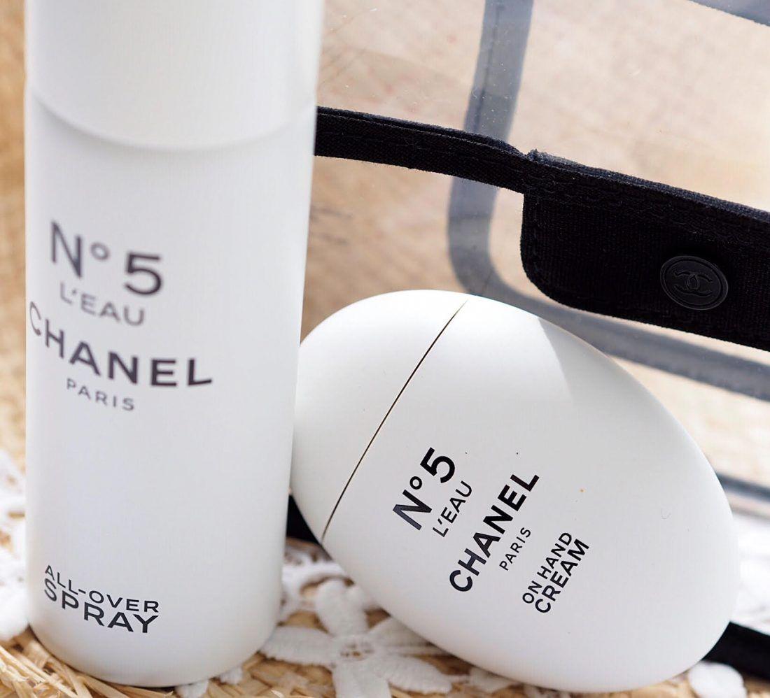 b7ac0c67ca Chanel No.5 L'Eau All-Over Body Spray | style | Body spray, Chanel ...