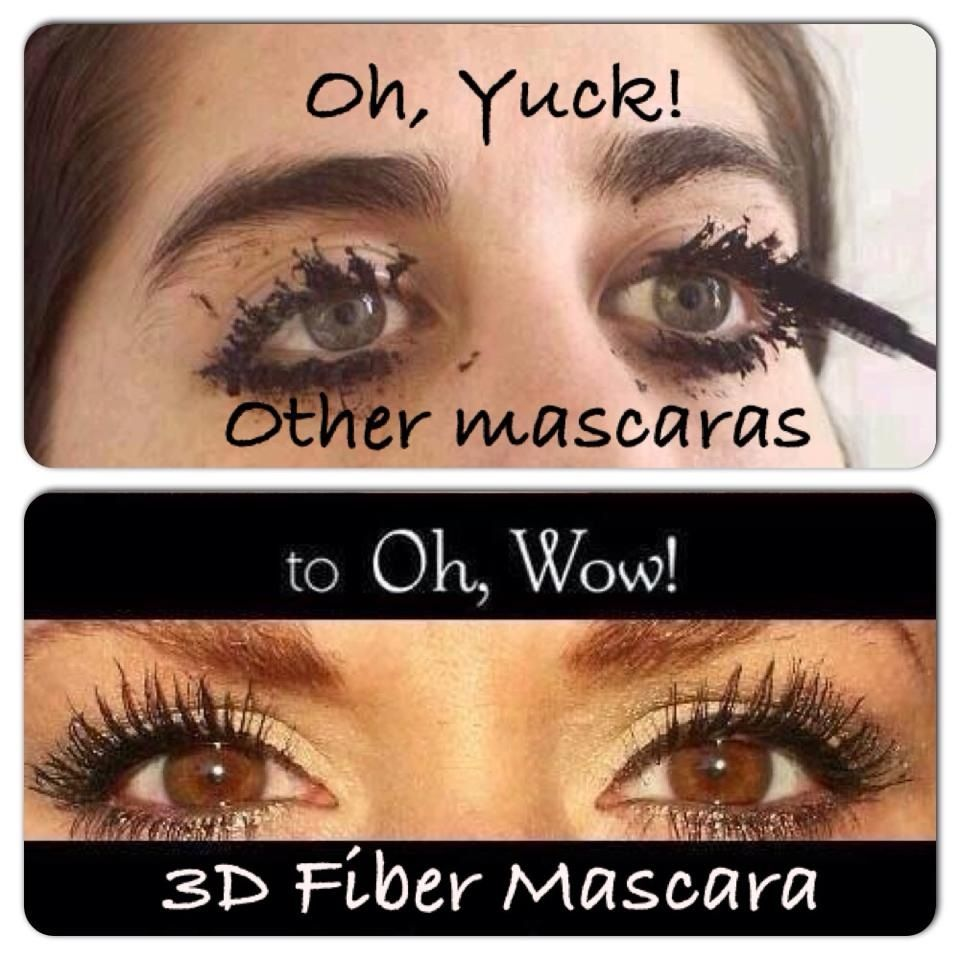 9eb6d8aca44 Don't waste your time on other mascaras that promise long lashes... No  mascara can compare to Younique's 3D Fiber Lash mascara!  www.youniquebylaura.ca
