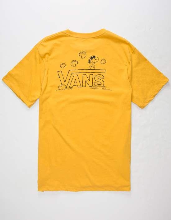 9e4a39f7ce0723 VANS x PEANUTS Classic Snoopy Mens T-Shirt