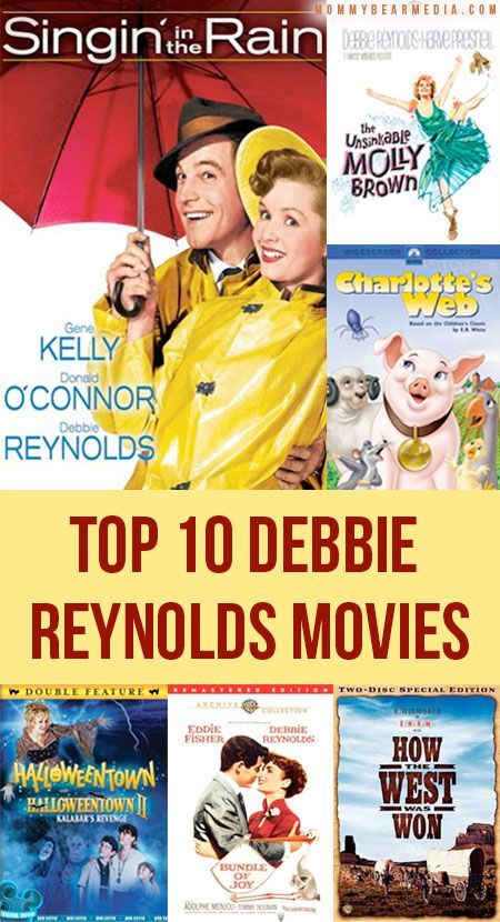 List Of The 100 Best Family Movies Of All Time Debbie Reynolds