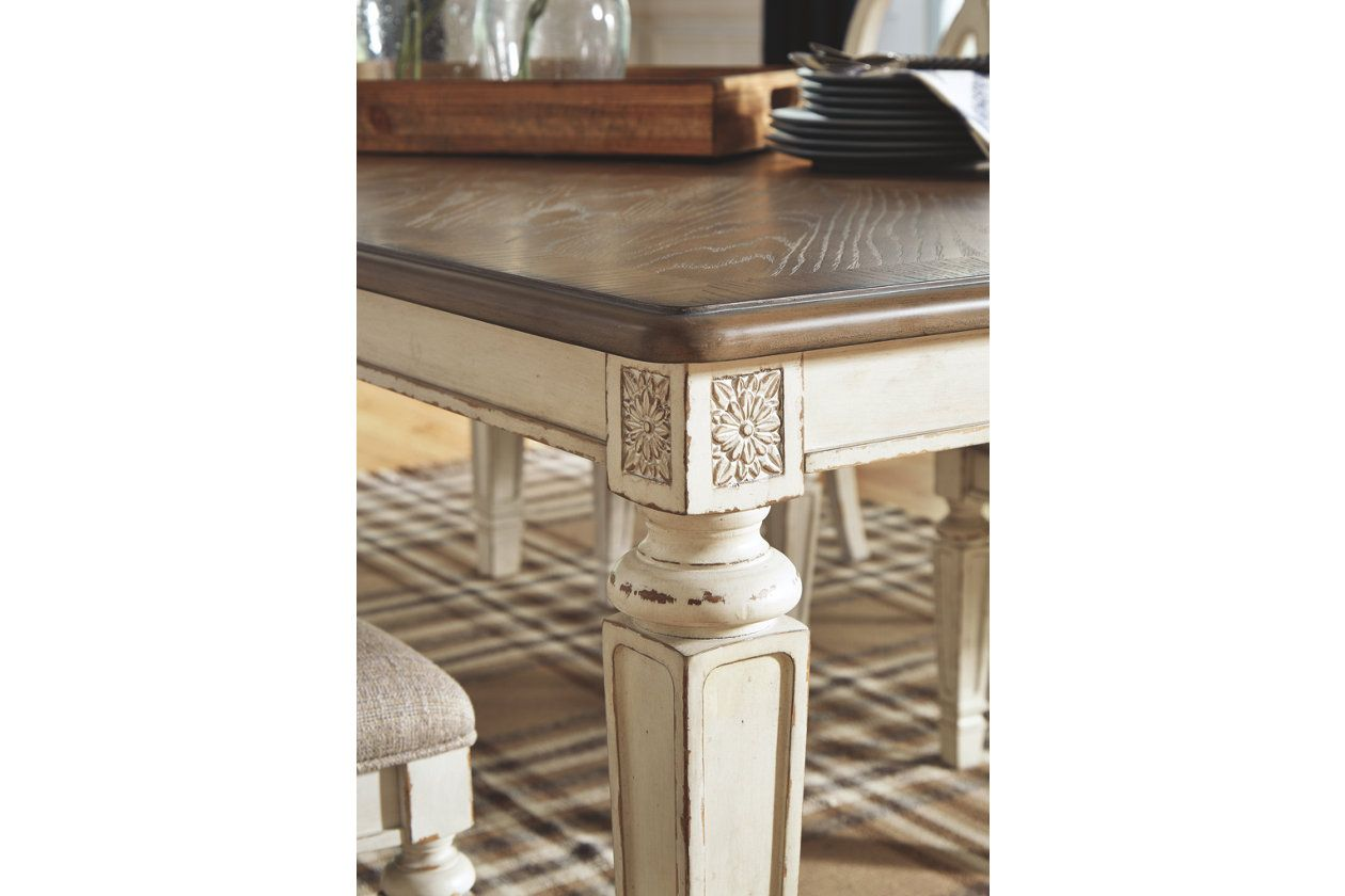 Realyn Dining Extension Table Extension Table Dining Table Ashley Furniture Homestore