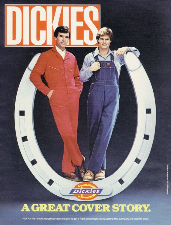 image result for dickies advertising vintage ads on dickies coveralls id=67493
