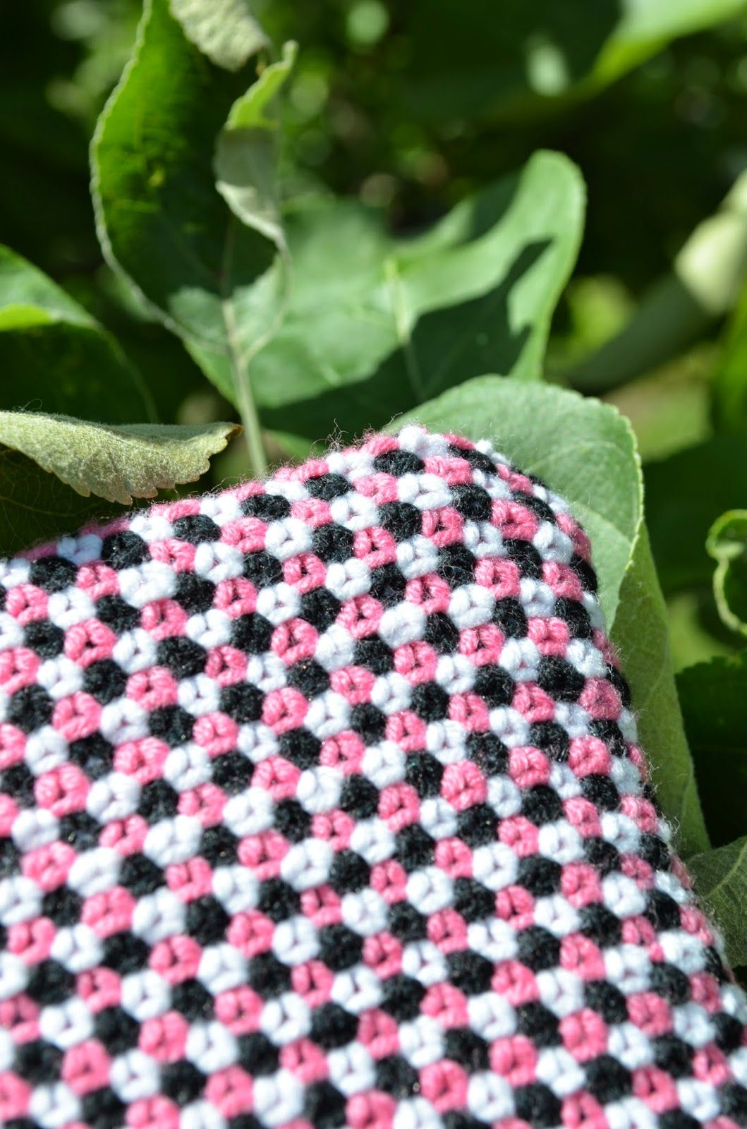 Linen stitch -pussukka