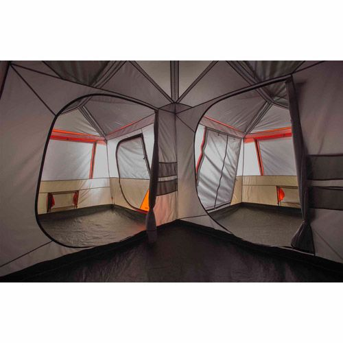 Ozark Trail 16 X 16 Instant Cabin Tent Sleeps 12 Walmart Com Cabin Tent Family Tent Camping Tent