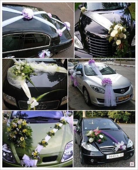 idee decoration voiture mariage