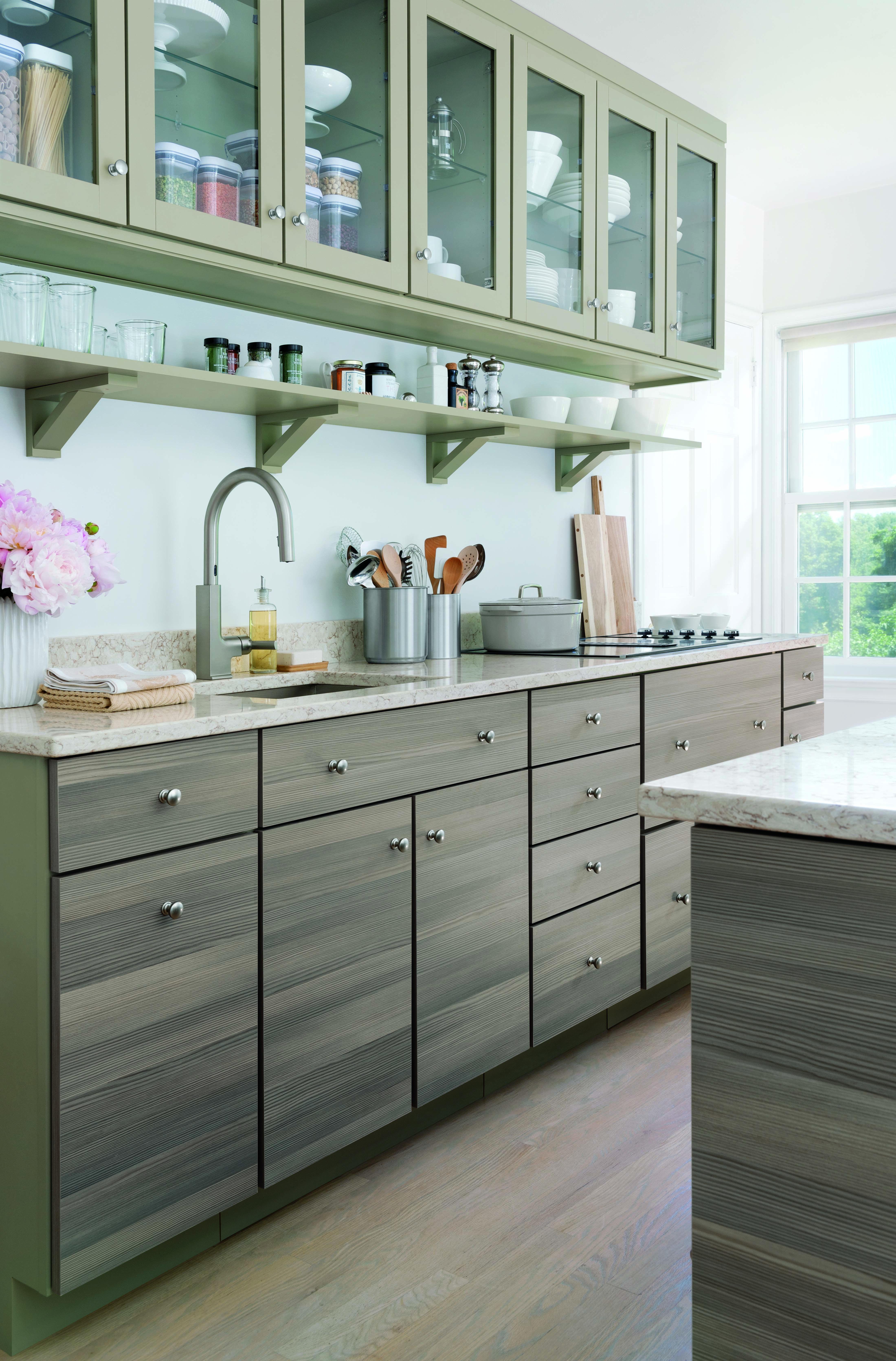 Sleek Modern And Organized Just Like You Your Martha Stewart Living Dream Kitchen Awaits Ho Martha Stewart Living Kitchen Kitchen Makeover Kitchen Remodel