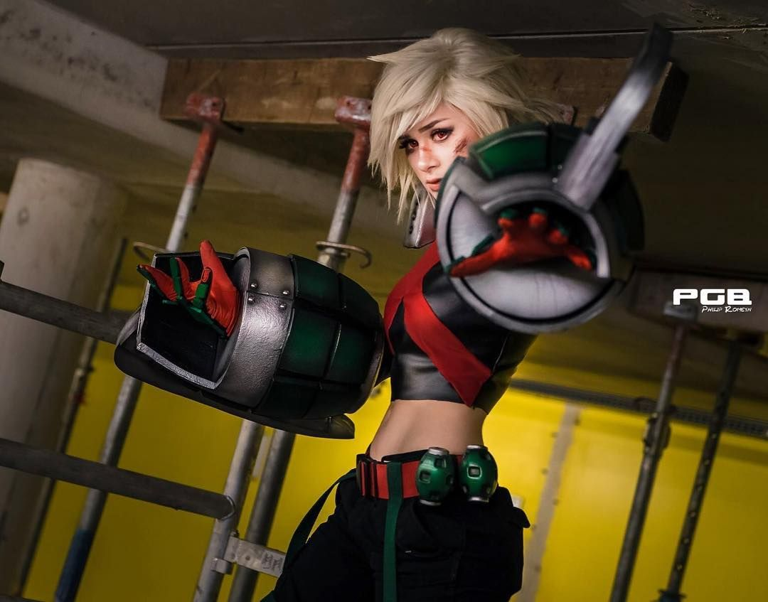 """Photo of Sammyscosplay on Instagram: """"I am above you! My Bakugou Katsuki was one of the more popular cosplays when I asked to pick your favourite cosplay of me! Thanks so much…"""""""