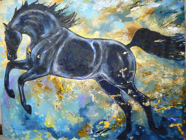 Inspiration for creativity (and horse lovers).