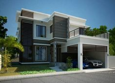 Modern model houses designs plans architecturaux philippines house design small home philippine also in pinterest rh