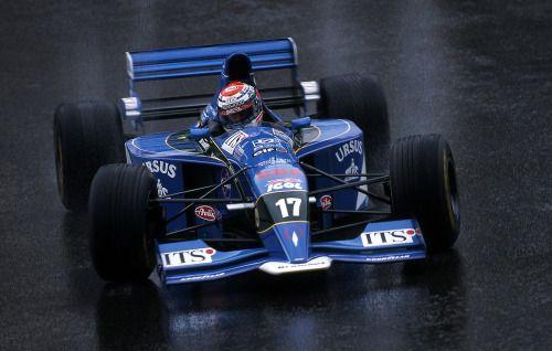 1995 Pacific PR02 - Ford (Andrea Montermini)