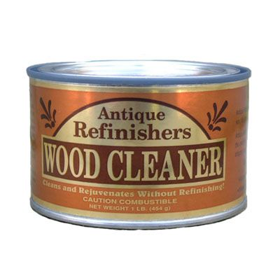 Antique Refinishers Wood Cleaner. Removes years of wax, dirt, grease, grime  and polish build-up. Will often restore furniture to its original beauty  without ... - Antique Refinishers Wood Cleaner. Antique Refinishers Wood Cleaner