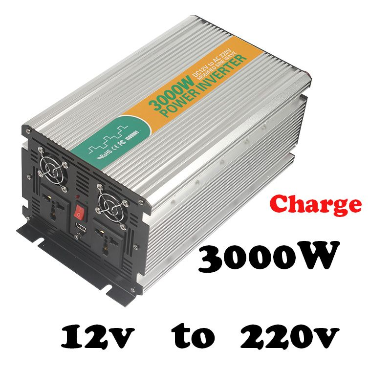 3000W 12v to 220v solar inverter without battery 3kw power ...
