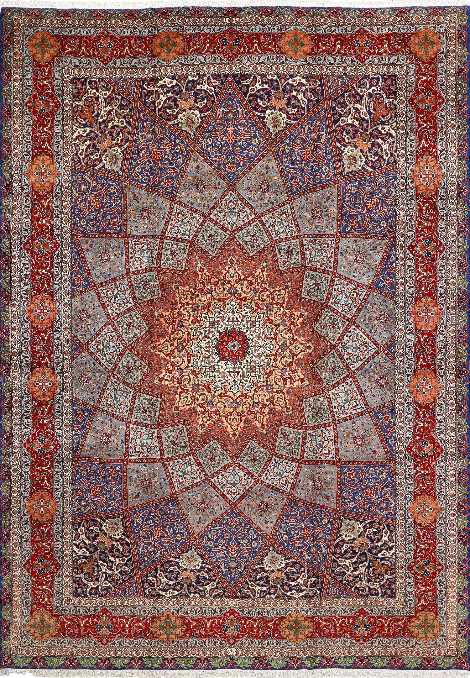 Fine Vintage Tabriz Persian Rug 51042