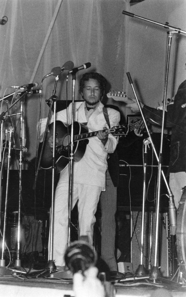 Bob Dylan and The Band Isle of Wight Festival - August 31 1969