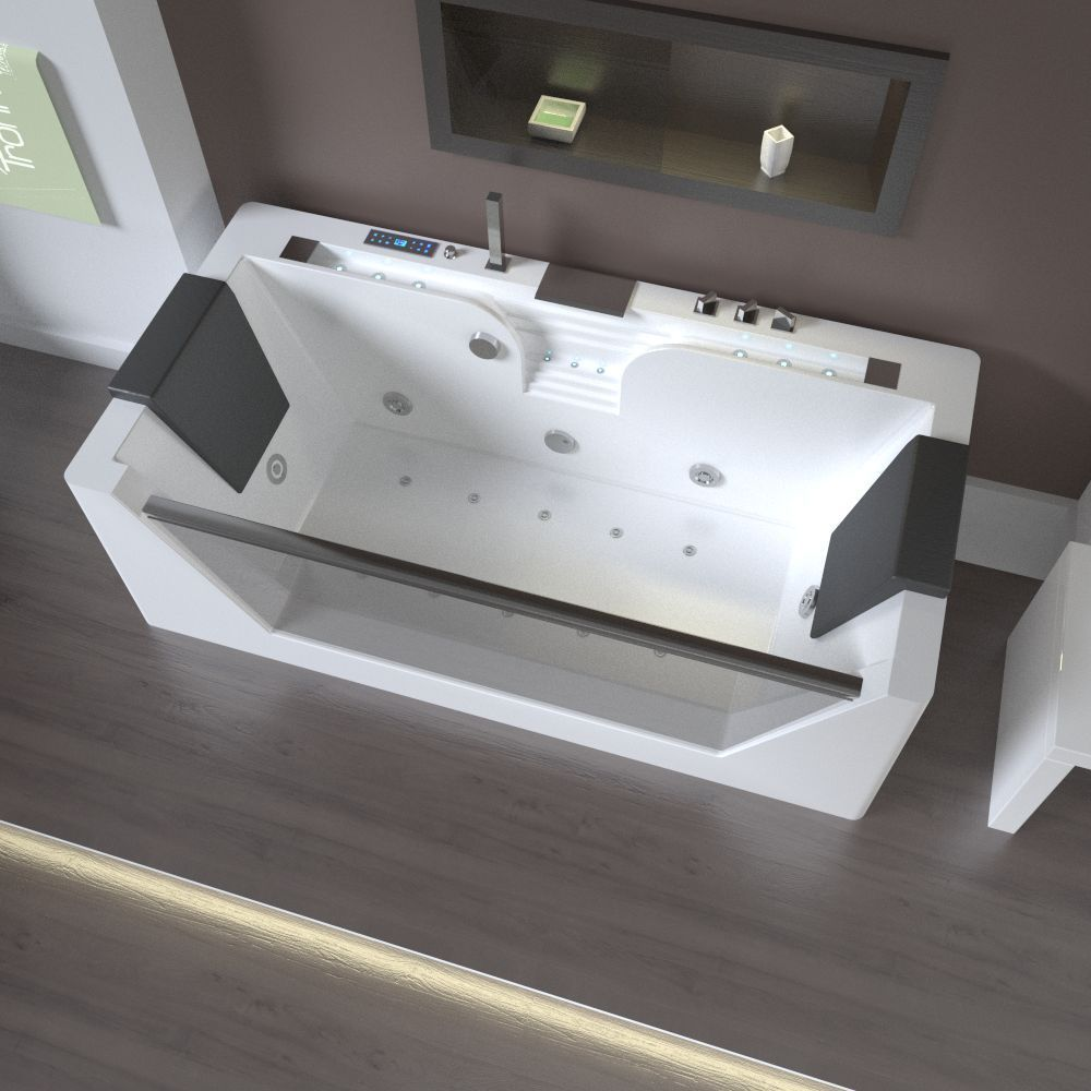Badezimmerdesign mit jacuzzi tronitechnik design luxus whirlpool badewanne wanne jacuzzi pool spa