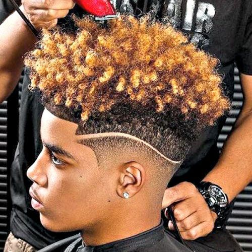 Haircut Names For Black Men Male Hairstyle Goofy