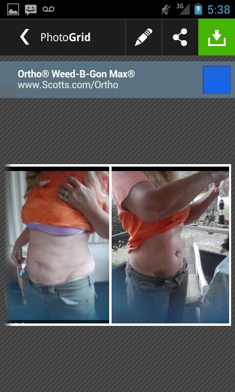 After 1 Wrap for 45 Minutes. Get a box of wraps on my website for $59 as a loyal customer! http://juliecasey.myitworks.com