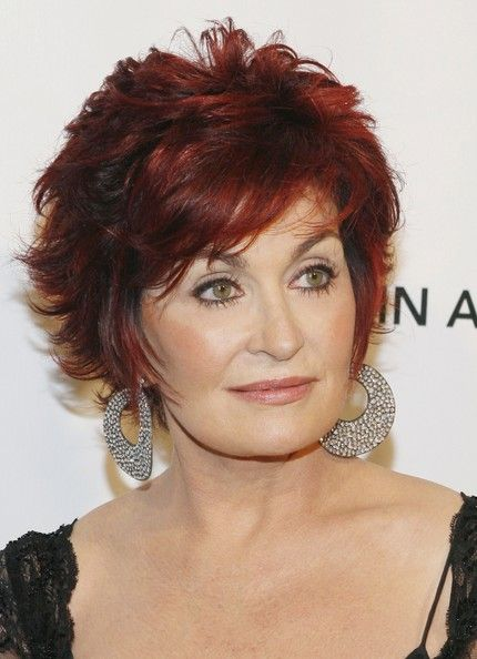 Sharon Osbourne Dangle Decorative Earrings Wore A Pair Of Standout Paved At The Elton John Aids Foundation Gala